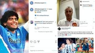 Maradona compie 60 anni, dal Napoli a Cannavaro e Batistuta: gli auguri di sportivi e vip