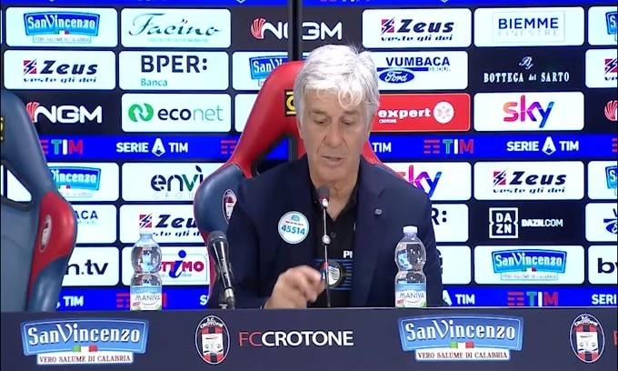 """Gasperini: """"Vittoria sofferta solo perchè risultato è rimasto aperto"""""""
