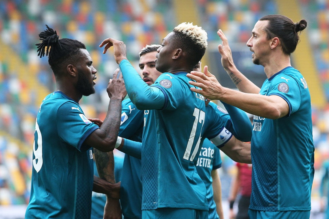 Milan, Ibrahimovic sbanca la Dacia Arena con una magia: Udinese ko