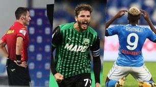 Il Napoli cade col Sassuolo, il Var è protagonista