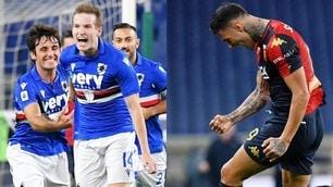 Sampdoria-Genoa, il derby lo decidono Jankto e Scamacca