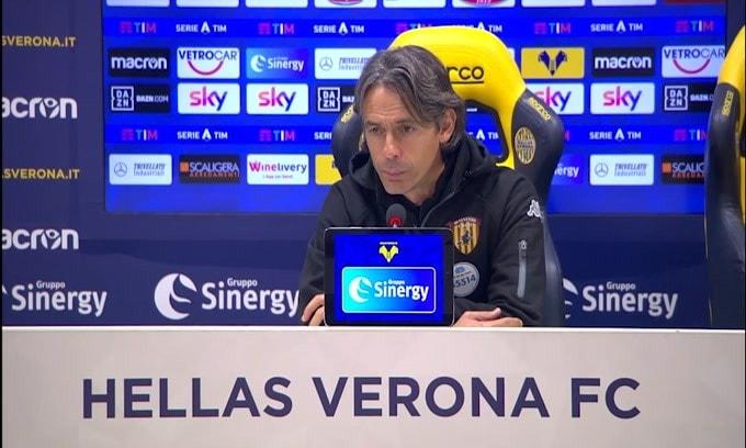 """Inzaghi: """"Su Caprari si è sentito il colpo: era rigore"""""""