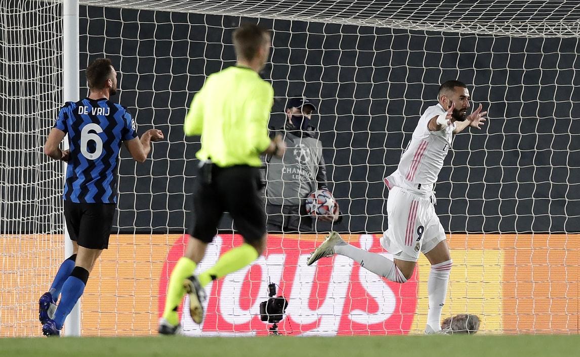 Inter, reazione a metà: il Real Madrid manda Conte all'ultimo posto