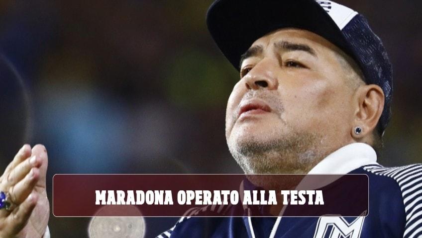 Maradona, operazione alla testa riuscita con successo