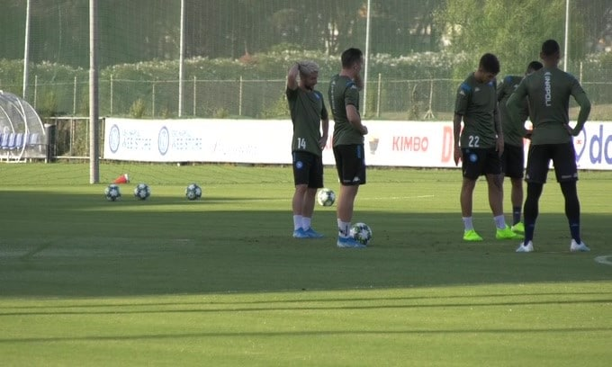 Napoli, Mertens a digiuno di gol