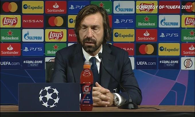 "Pirlo: ""Kulusevski è giovane e deve migliorare"""