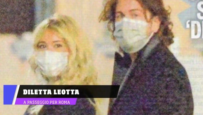 Diletta Leotta e Alessandro Siani, la passeggiata conferma!