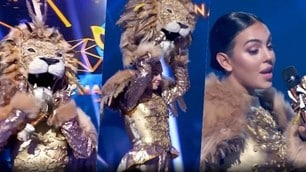 Georgina, show da leonessa! Il travestimento sorprende tutti