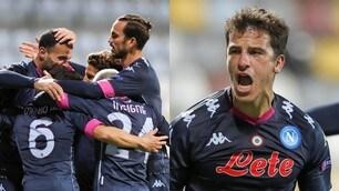 Napoli in rimonta sul Rijeka: gol di Demme, Mertens non si sblocca