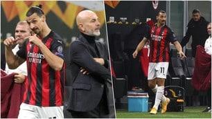Ibrahimovic sostituito in Milan-Lilla: è infuriato