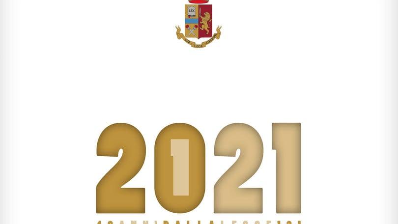 Ecco il calendario 2021 della Polizia di Stato   Corriere dello Sport