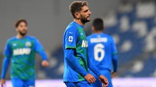 Delusione Sassuolo, fallito il sorpasso al Milan
