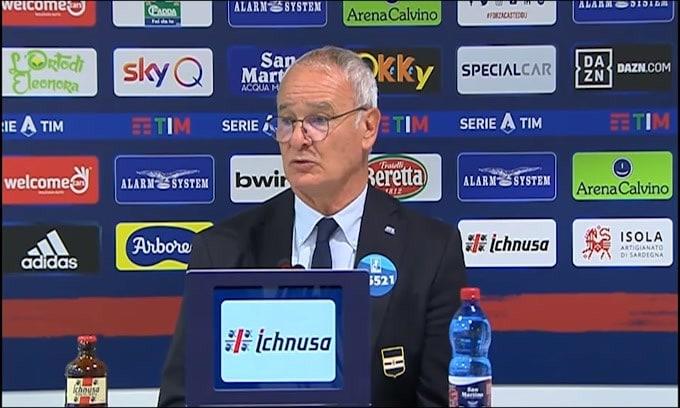 """Ranieri: """"Il rigore è stato generoso"""""""