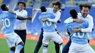 Lazio, abbraccio Inzaghi-Caicedo: l'emozione finale è da impazzire!