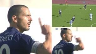 """Bonucci a Cuadrado: """"Stai zitto"""". Tensione in Lazio-Juve"""