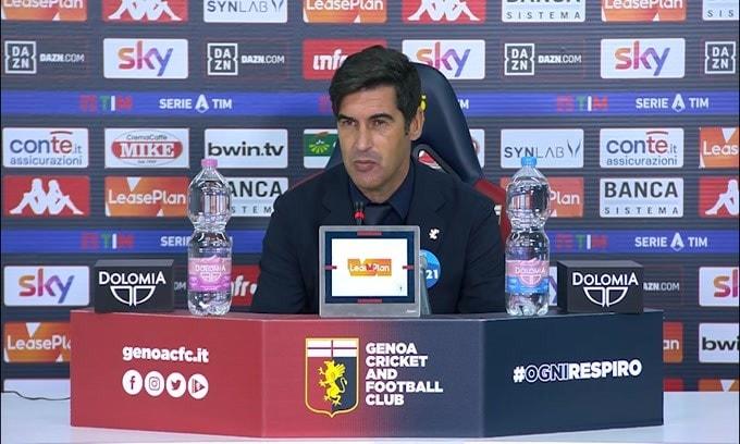 "Fonseca: ""La squadra ha fiducia e reagisce"""