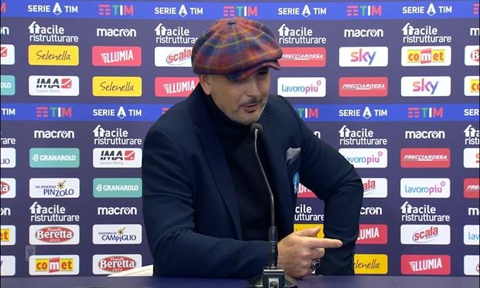 """Mihajlovic: """"La prestazione c'è stata, difficile fare di più"""""""