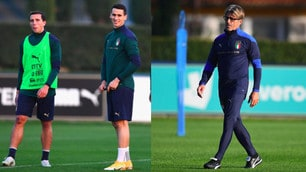 Italia, allenamento senza Mancini: guida Evani