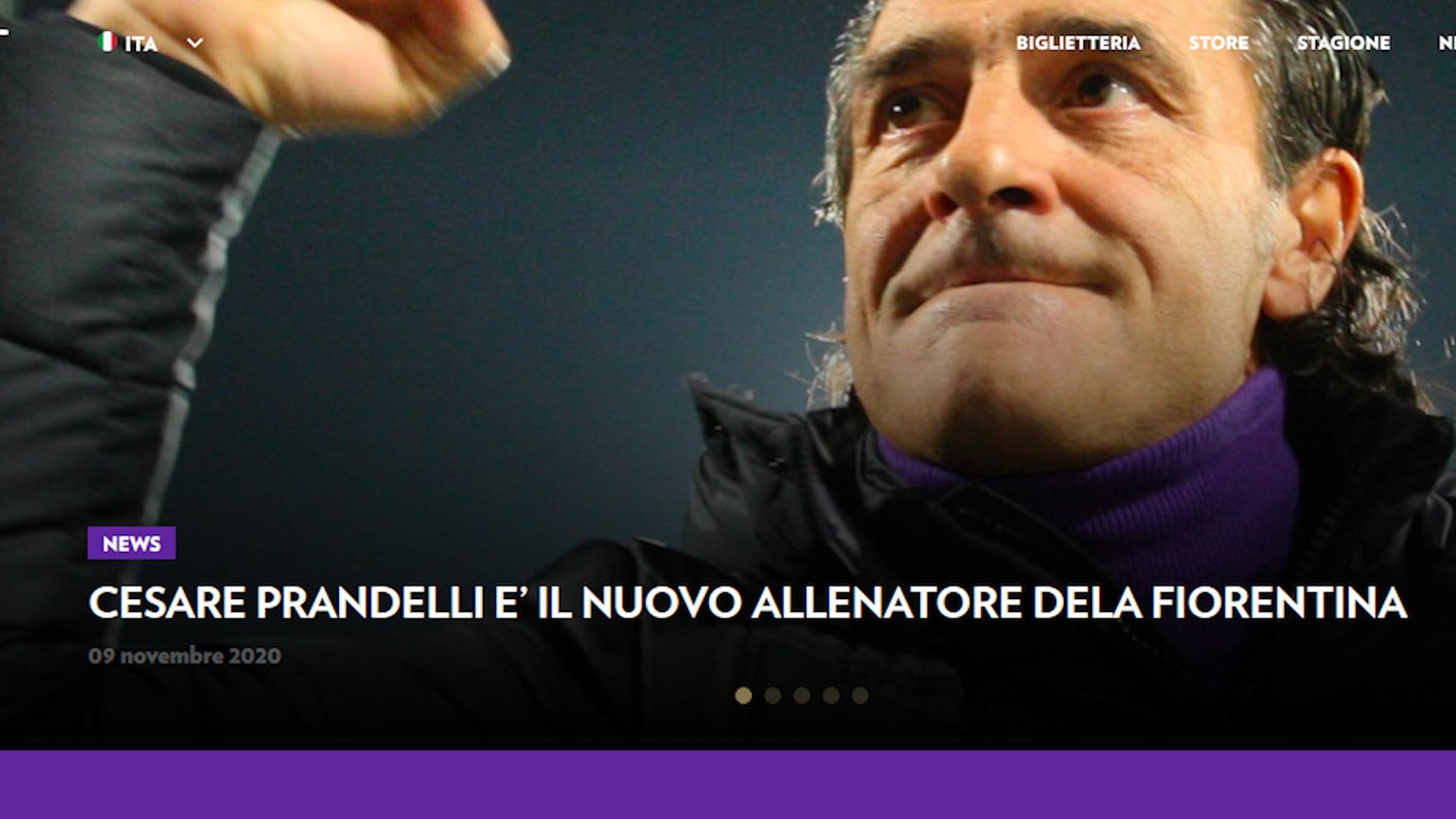 Ufficiale, Fiorentina: esonerato Iachini