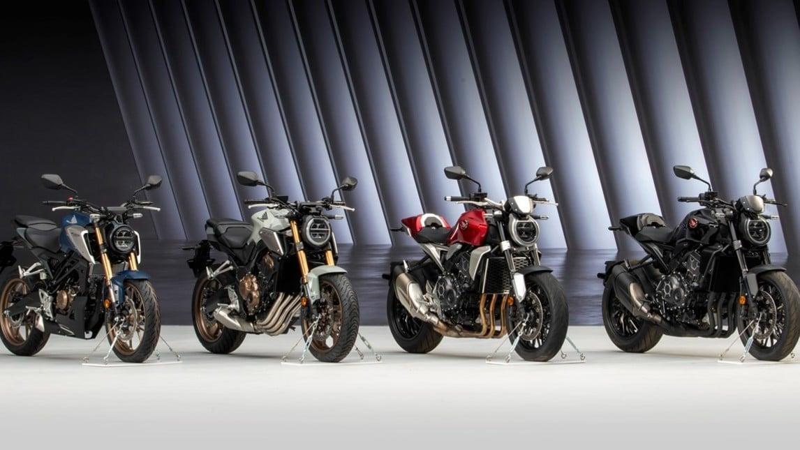 Honda CB125R 2021: le immagini