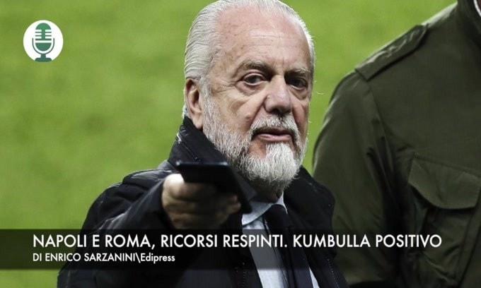 Roma e Napoli, ricorsi respinti. Kumbulla positivo