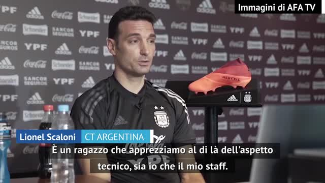 "Scaloni: ""Dybala? Momento difficile e Lautaro..."""