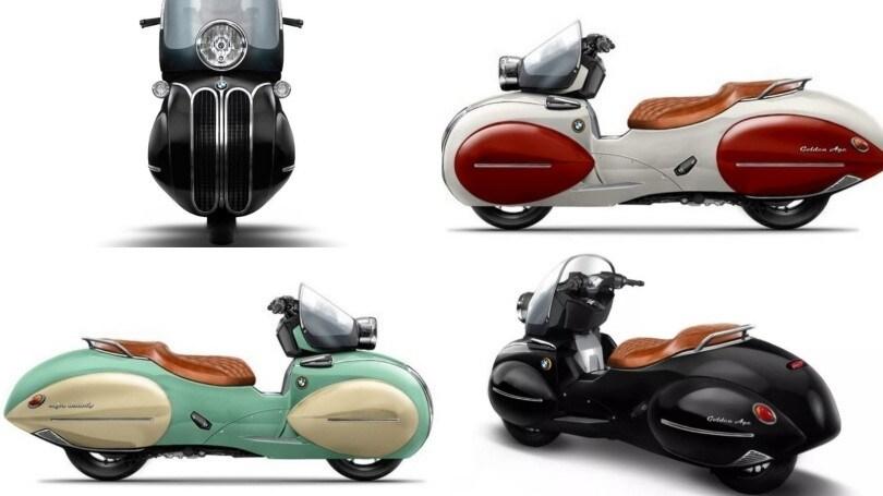 Nmoto Studio Golden Age, lo scooter del passato IMMAGINI