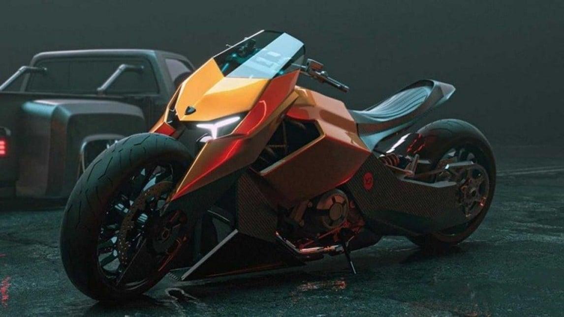 Mangusta, la moto Lamborghini IMMAGINI