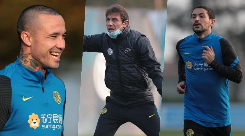 Inter, sorrisi per Nainggolan. E Conte prova il recupero di Sensi