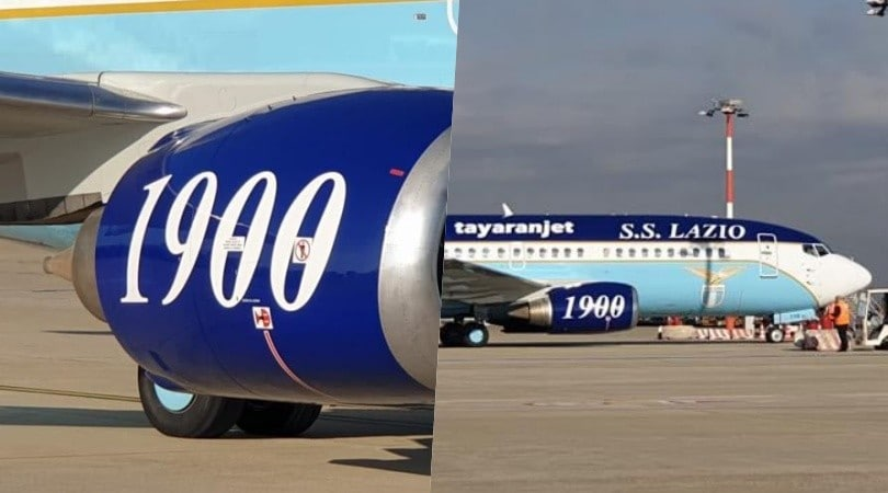 Lazio, ecco l'aereo della squadra: presto il primo volo