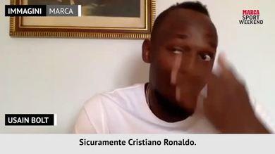 "Bolt: ""CR7 batterebbe anche me"""