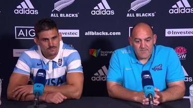 """Battuti gli All Blacks, Ledesma: """"Un giorno storico"""""""