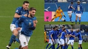 Jorginho e Berardi battono Szczesny: che festa per l'Italia!