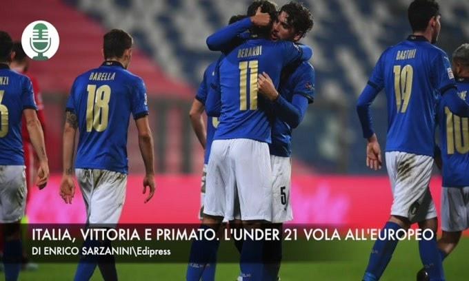 Italia, vittoria e primato. L'Under 21 vola all'Europeo