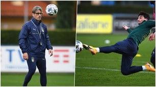 L'Italia di Evani verso la Bosnia: allenamento intenso a Coverciano