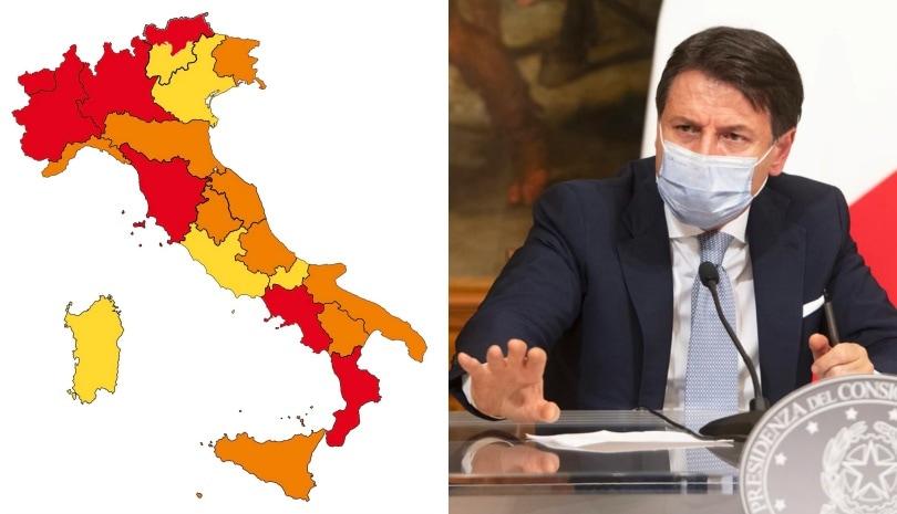 Cartina Italia E Province.Covid La Nuova Mappa Dell Italia Chi Entra E Chi Esce Dalla Zona Rossa