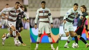 Cristiano Ronaldo non segna ma vince il duello con Modric