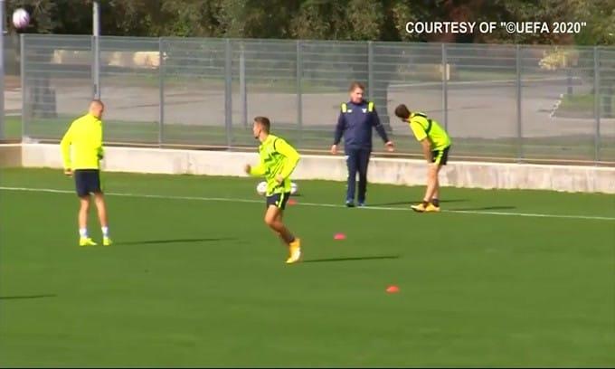 Tegola Lazio, positivo Milinkovic-Savic