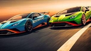 Nuova Lamborghini Huracan STO: da 0 a 100 km/h in 3,0 secondi
