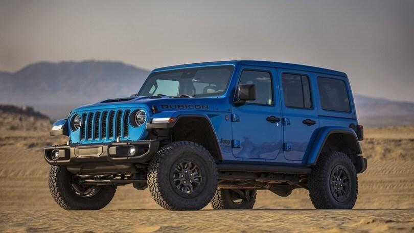 Jeep Wrangler Rubicon 392, il V8 Hemi sprigiona 470 cavalli