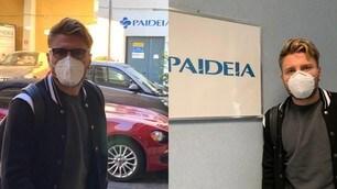 Lazio, l'arrivo di Immobile in Paideia