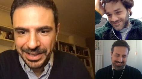 Il talento del calabrone, la video intervista a Lorenzo Richelmy e Giacomo Cimini