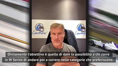 """W Series, Coulthard: """"Così porteremo le donne in Formula 1..."""""""