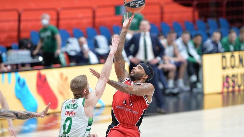 Olimpia, vittoria thriller con lo Zalgiris in Eurolega