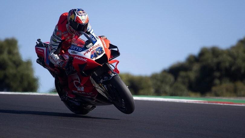 GP Portogallo: Miller domina le FP3, Valentino Rossi solo 20°