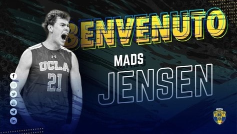 Verona ha ingaggiato il danese Mads Jensen
