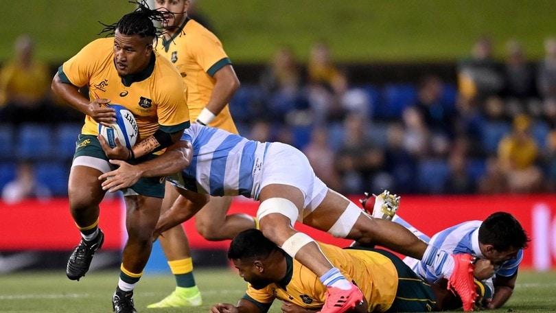 Rugby, altra impresa dell'Argentina: pareggio con l'Australia