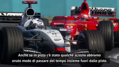 """Coulthard: """"Vi racconto il 'mio' Schumacher"""""""