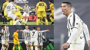 Cristiano Ronaldo trascina la Juve: doppietta in 4'!