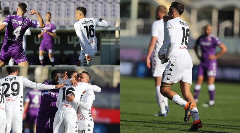 Benevento, tre punti d'oro per Inzaghi! Improta condanna la Fiorentina